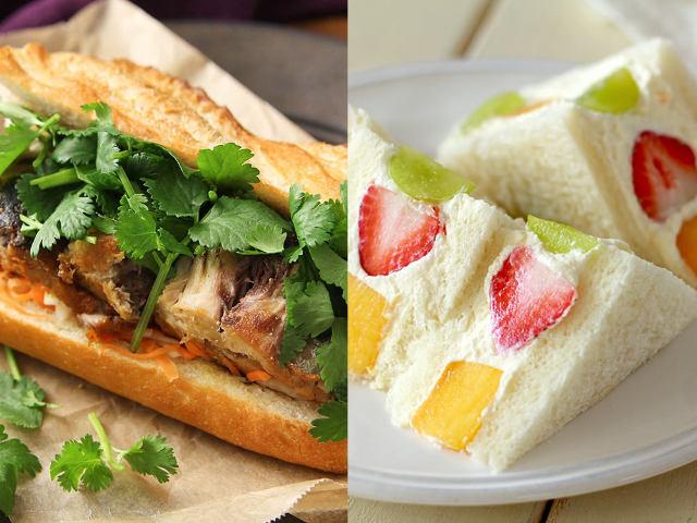 話題のツナメルトに、フルーツサンドも!絶品サンドイッチレシピ5選