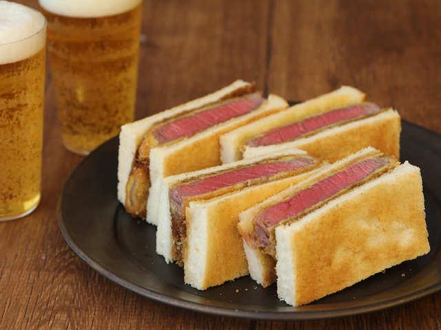 4.お店だけの味じゃない! 真の肉好きなら手作りしたい「ビーフカツサンド」