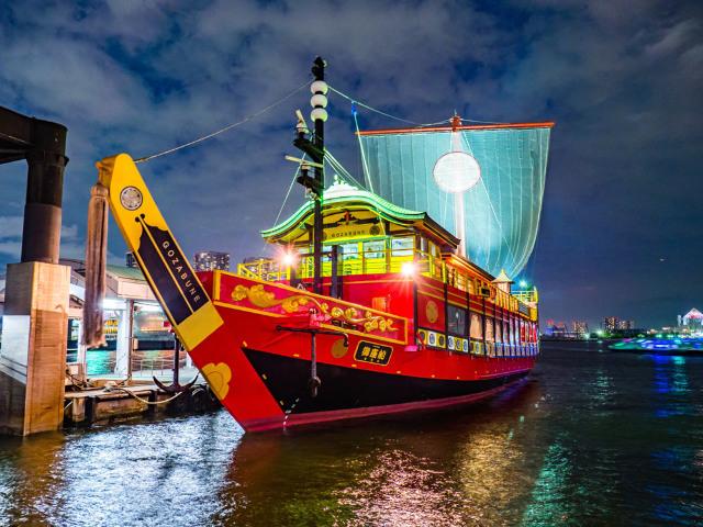 今までの屋形船は何だったのか!? 船上で豪快「築地マグロ」を食べ尽くす、大江戸「クルージング」体験